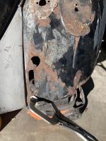 Rear fender holes