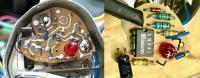Temp gauge electronics (PCB flipped)