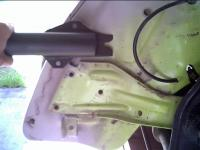 Late 74 front bumper bracket and shock
