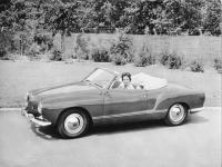 1957 Convertible Ghia Press Photo