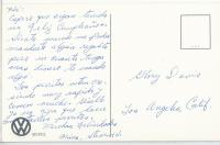 VW Postcard - We'll never make it big