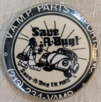 """Save-A-Bug button - 2.5"""""""