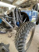 Baja front suspension