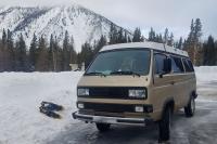 Snowshoeing on Mt Rose