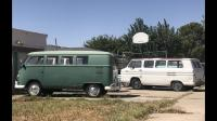 Vw buses with greenbrier