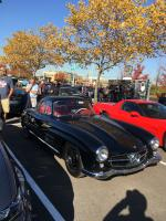 Gullwing at Cars N Coffee