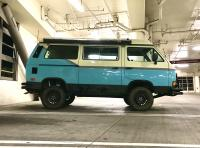 Vanagon 87 Syncro lifted Schwenk springs OME shocks 215/75-R15