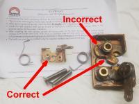 vanagon slider door latch and bearings