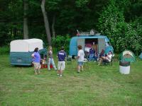 Litchfield Pre-Show Camping