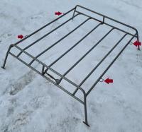 Steel Bug roof rack with 4 loops