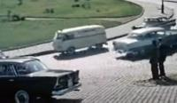"Splittie/Barndoor ambulance in ""That Man in Istanbul"" (1965)"