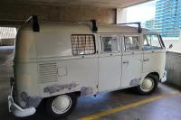 Parking Garage luck? Nearly had to pay extra in San Diego, CA... ('67 Westfalia)