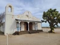 """The """"Kill Bill"""" Church just outside of Lancaster, CA near Edwards Air Force Base"""