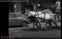 Stills from Pathe film on YouTube 1947 Berlin with beetle