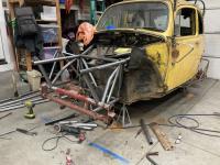 Baja bug beam disassembly