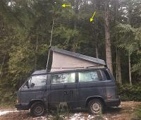 winter field day antenna