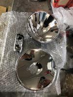 57 single cab repair from austria headlight emblem