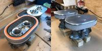 Hand built type 3 vintage style air filter dellorto drla