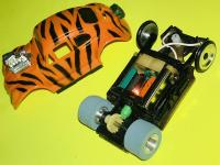 Vintage TYCOPRO VW Tiger Bug Slot Car
