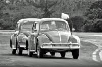 Oval window Beetles at 1964 Bahamas Speed Weeks