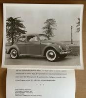 1961 Beetle Press Photo