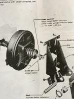 Vanagon brake booster clevis adjustment 111.5mm