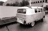 Ocean Falls VW bus