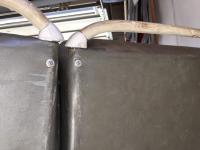 Middle bench grab handle