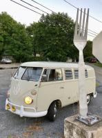 Pearl White Tin Top Westy