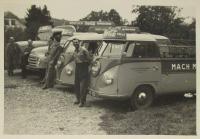 Vintage VW Type 2 Coke bus photo