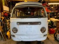 More rust discoveries on the '69 Westy...