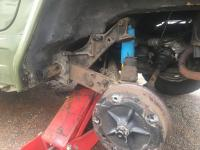 Torsion bar and spring plate install