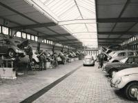German VW workshop, early 1960's