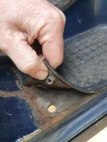 Minor rust on my van, in need of fixing