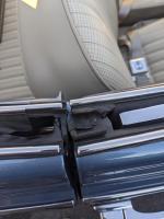 VW convertible rear wedges