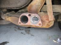 exhaust evidence of engine problem?