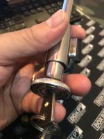 hood lock with beetle key