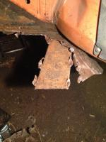 '73 Thing Body-On Floorpan Removal
