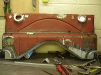 Front body panel restoration - 1946 Beetle