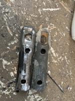 412 bumper impact strip bracket mounts