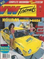 VW Trends - December 1992 - Cover