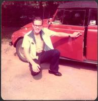 My and my first car, '71 Super, August '76