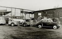 Barndoor Standard in vintage photo