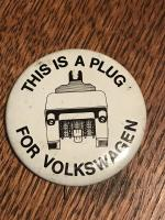 VW button - This is a plug for Volkswagen