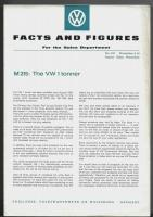 VW Facts and Figured flyer - November 4, 1963