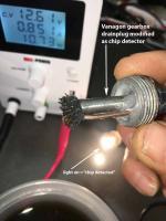 Vanbagon transaxle chip detector