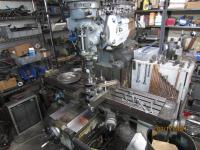 cranshaft on milling machine