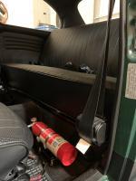 Fire Extinguisher Mount Rear Seat 1969 Beetle