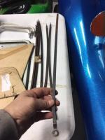 side cargo door rods