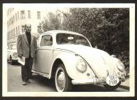 Ragtop Beetle vintage photo